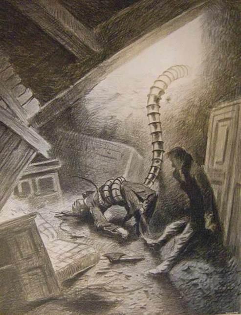 Si de mauvais esprits voient dans le serpent le symbole du pénis ou du phallus.