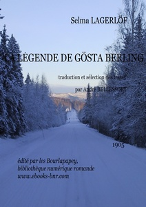 Lagerlöf Selma – La légende de Gösta Berling - Bibliothèque numérique romande - Petey 21 Wintery  condition  road  in  northern  Sweden