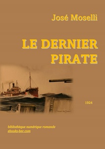 Moselli José - Le dernier Pirate - Bibliothèque numérique romande - Kenneth King From the deck of U-boat U-753, signaling to Irish Willow send master and ship's papers Licence Art Libre