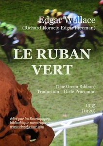 Wallace Edgar - Le ruban vert- Bibliothèqe numérique romande - John  Armagh finishing  post,  Ascot  Racecourse